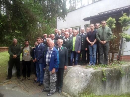 W siedzibie Zarządu Okręgowego PZŁ w Piotrkowie Trybunalskim 9 czerwca spotkali się przedstawiciele kół łowieckich, które biorą udział w konkursie FOG